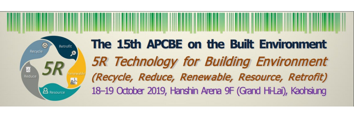 The 15th APCBE on the Built Environment